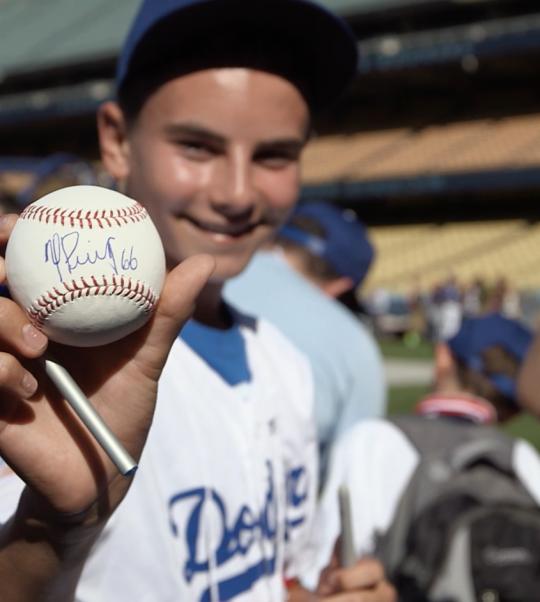 "MasterCard ""Priceless Surprises"" L.A. Dodgers"