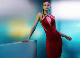 "Herve Leger ""2015 Body-Con Issue"""