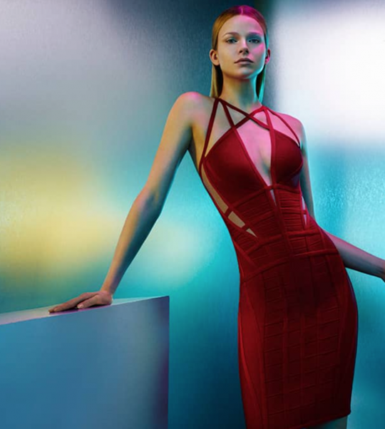 """Herve Leger """"2015 Body-Con Issue"""""""